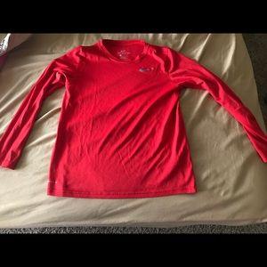 Large Nike Hi-tech long sleeve sports shirt